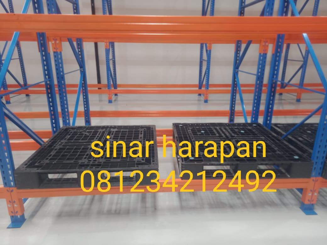 rak gudang besi rak heavy duty rak medium storage